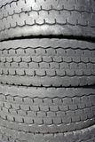 Old car tyres Royalty Free Stock Photography