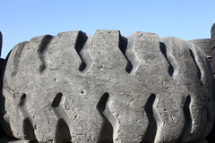 Old car tyres Royalty Free Stock Photo