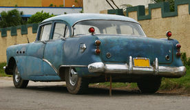 Old car in Varadero Stock Image