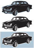 Old Car Vector Royalty Free Stock Image