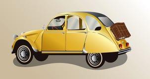 Old car, vector Stock Photos