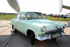 Old car volga Royalty Free Stock Photo