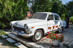 Old car Volga. Restored vintage car. The legacy of the Soviet er Stock Photography