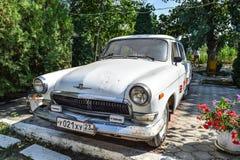 Old car Volga. Restored vintage car. The legacy of the Soviet er Stock Photo