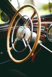 Old car wheel Stock Photo