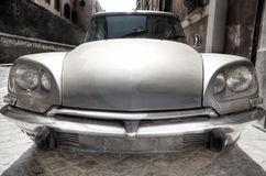 Old car wide angle view Stock Photography