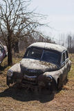 Old car wreck Royalty Free Stock Photos