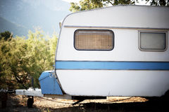 Old caravan Royalty Free Stock Photos