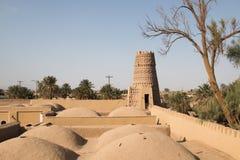 Old caravanserai in Shahdad, Iran royalty free stock photo