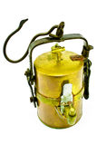 Old carbide miners lamp Royalty Free Stock Photos