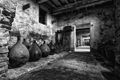Old carboys Stock Images