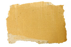 Old cardboard scrap Royalty Free Stock Images