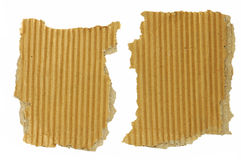 Old Cardboard Scraps Royalty Free Stock Photography