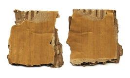 Old Cardboard Scraps Stock Photo