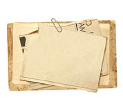 Old cards Royalty Free Stock Image