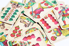 Old cards Royalty Free Stock Photos