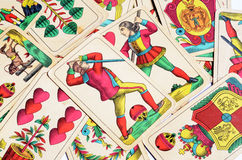Old cards Royalty Free Stock Images