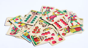 Old cards Royalty Free Stock Photography