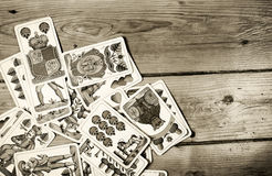 Old cards Stock Photos