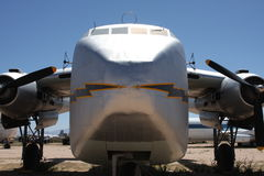Old cargo aircraft Royalty Free Stock Images