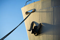 Old cargo ship bow Royalty Free Stock Photos