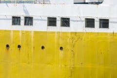 Old cargo ship Stock Image