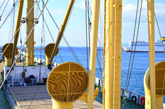 Old cargo vessel Stock Photos