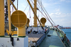 Old cargo vessel Royalty Free Stock Image