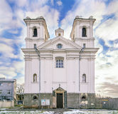 Old Carmelite Church  in Kaunas Royalty Free Stock Photo
