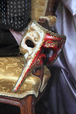 Old carnival mask. As very nice art background stock image