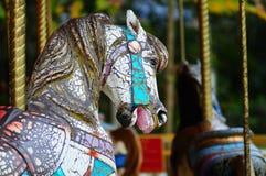 Old carousel Royalty Free Stock Photos
