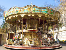 Old carousel Stock Image