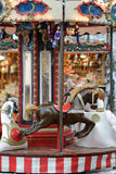 Old carousel Royalty Free Stock Image