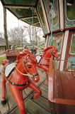 Old Vintage carousel for children royalty free stock image