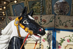 Old carousel horse Royalty Free Stock Images