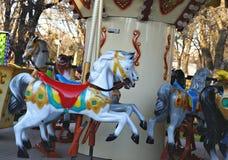 Old  carousel Stock Photo