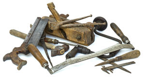 Old Carpenter Tools Stock Photos