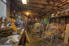 Old Carpentry Workshop Stock Images