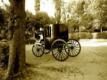 Old carriage Stock Photography