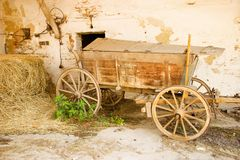 Old carriage Stock Image