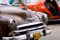 Old cars stock photography