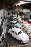 Old cars exhibition Royalty Free Stock Images