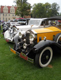 Old Rolls-Roys cars. Old restored beauty Rolls-Roys cars Royalty Free Stock Image