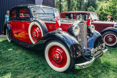 Old cars show Stock Image