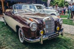 Old cars show Stock Photos