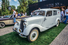 Old cars show Royalty Free Stock Image
