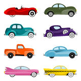 Old cars vector Royalty Free Stock Photography