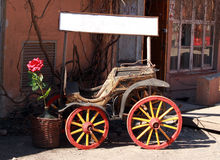 Old cart. Stock Photo