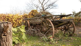 Old Cart for Transportation stock video footage
