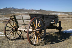 Old cart wagons Royalty Free Stock Images